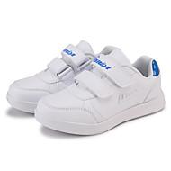 baratos Sapatos de Menina-Para Meninas Sapatos Couro Ecológico Primavera & Outono Conforto Tênis Corrida Poa para Infantil Rosa claro / Branco / Amarelo / Azul Real