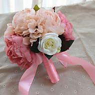 billiga Brudbuketter-bröllopsblommor unika bröllopsinredning prom / bröllop anpassade material 0-10 cm