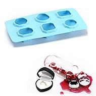 billiga Kök och matlagning-Bakeware verktyg Silikon 3D / GDS (Gör det själv) Muffin / Is / För glass Bricka / Cake Moulds 1st