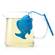 billige Kaffe og te-Silikon Søtt / Te Liten fisk 1pc Filre / Tesil / Tetrekker