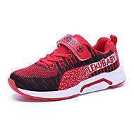 baratos Sapatos de Menino-Para Meninos Sapatos Tricô Primavera & Outono Conforto Tênis Corrida Poa para Adolescente Cinzento / Vermelho / Azul Real