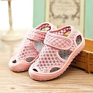 tanie Obuwie dziewczęce-Dla dziewczynek Obuwie Siateczka Lato Comfort Sandały Tasiemka na Dzieci Gray / Yellow / Różowy