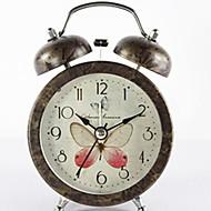 billiga Väckarklockor-Väckarklocka Ramtyp Metall Quartz 11.1*5.5*16.5 pcs
