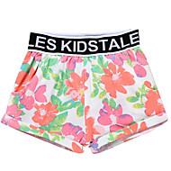 billige Undertøj og sokker til babyer-Baby Pige Basale Blomstret Undertøj og strømper