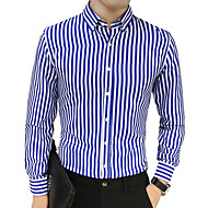 mænds skjorte - stripet skjorte krave