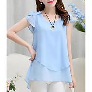 Dame - Ensfarvet I-byen-tøj Bluse