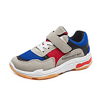 baratos Sapatos de Menina-Para Meninas Sapatos Com Transparência / Couro Ecológico Primavera Verão Conforto Tênis Caminhada para Adolescente Branco / Preto / Azul