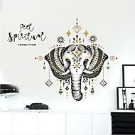 billiga Väggklistermärken-Dekrativa Väggstickers - Animal Wall Stickers Djur Vardagsrum / Sovrum / Badrum