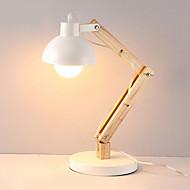billige Skrivebordslamper-Moderne / Nutidig Nytt Design / Kreativ Skrivebordslampe Til Soverom / Leserom / Kontor Tre / Bambus 220V