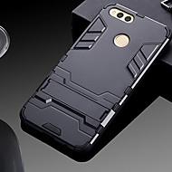 billiga Mobil cases & Skärmskydd-fodral Till Huawei Honor 7X med stativ Skal Enfärgad Hårt PC för Honor 7X