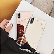 Carcasă Pro Apple iPhone X / iPhone 8 Nárazuvzdorné / Zrcadlo Zadní kryt Jednobarevné Pevné PC pro iPhone X / iPhone 8 Plus / iPhone 8