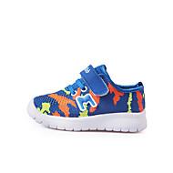 baratos Sapatos de Menino-Para Meninos Sapatos Com Transparência Verão / Outono Primeiros Passos Tênis Velcro para Bebê Verde / Azul / Rosa claro