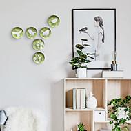 billige Veggdekor-Fugl / Blomst Veggdekor Spesial Material Dyr / Parfymert Veggkunst, Veggtepper Dekorasjon