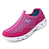 baratos Sapatos Masculinos-Homens Com Transparência Outono Conforto Tênis Caminhada Estampa Colorida Preto / Cinzento / Fúcsia