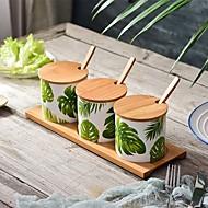 Χαμηλού Κόστους Βάζα & Κουτιά-Οργάνωση κουζίνας Σέικερ & Μύλοι / Κουτιά κουζίνας Ξύλο / Κεραμικό Αποθήκευση / Δέντρο / Lovely 7pcs