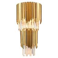 baratos Arandelas de Parede-QIHengZhaoMing Cristal LED / Moderno / Contemporâneo Luminárias de parede Sala de Estar / Lojas / Cafés Cristal Luz de parede 110-120V / 220-240V 5 W / E14 / E12