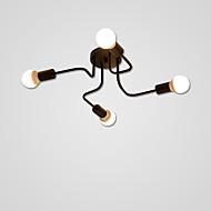 billige Taklamper-4-Light Takplafond Omgivelseslys Malte Finishes Metall 110-120V / 220-240V Pære ikke Inkludert / E26 / E27