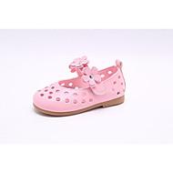 baratos Sapatos de Menina-Para Meninas Sapatos Couro Ecológico Verão Conforto / Sapatos para Daminhas de Honra Rasos para Branco / Rosa claro