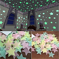 Light Switch Stickers - Plane Wall Stickers / Luminous Wall Stickers Halloween Decorations / Holiday Indoor / Kids Room