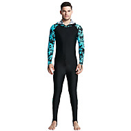 SBART Muškarci Ronilačko odijelo kože SPF 50 UV zaštitu od sunca Prozračnost Spandex Kompletna maska Kupaći kostimi Plaža Nosite Ronilačka odijela Moda Prednji Zipper Ronjenje / Quick dry / Quick dry
