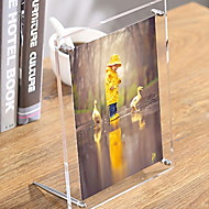 tanie Ramki na zdjęcia stojące-Nowoczesny / współczesny ABS Polerowanie lustrzane Ramki do zdjęć, 1szt