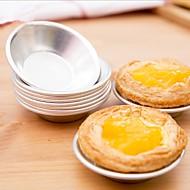 billige Bakeredskap-Bakeware verktøy Aluminium GDS Til Småkake / For Småkake / Sjokolade Cake Moulds / Bake & Mørdeigs Verktøy 6pcs