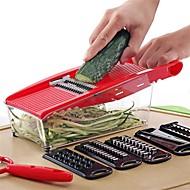 baratos Utensílios de Cozinha-Utensílios de cozinha Plásticos / Aço Inoxidável + Plástico ABS Gadget de Cozinha Criativa Conjuntos de ferramentas para cozinhar Uso Diário / Vegetais 1pç
