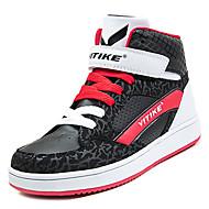 baratos Sapatos de Menino-Para Meninos Sapatos Couro Ecológico Outono Conforto Tênis para Branco / Preto