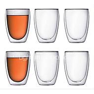 Χαμηλού Κόστους Κορυφαία σε Πωλήσεις-drinkware Υψηλό γυαλί βορίου Κούπα Θερμομονωτικά 1 pcs