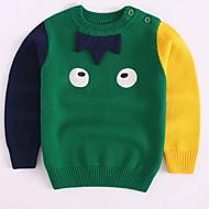 Børn / Baby Drenge Trykt mønster Langærmet Trøje og cardigan