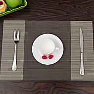 billige Bordduker-Moderne PVC Kvadrat Bordskånere Mønstret Non-Stick / Anti-Bære / Bruddsikker Borddekorasjoner 1 pcs