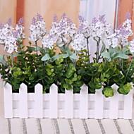 billige Kunstig Blomst-Kunstige blomster 1 Afdeling Klassisk / Enkel Rustikt Lyseblå Bordblomst