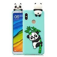 billiga Mobil cases & Skärmskydd-fodral Till Xiaomi Mi 6X / Mi 5X GDS (Gör det själv) Skal Panda Mjukt TPU för Redmi Note 5A / Redmi 5A / Xiaomi Redmi 4X
