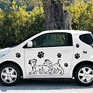 cheap Car Body Decoration & Protection-Black Car Stickers Cartoon Door Stickers Cartoon Stickers