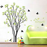 Autocolantes de Parede Decorativos - Autocolantes de Aviões para Parede Floral / Botânico Sala de Estar / Quarto / Banheiro
