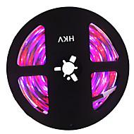 Χαμηλού Κόστους Φωτιστικά Λωρίδες LED-HKV 5m Ευέλικτες LED Φωτολωρίδες 300 LEDs 3528 SMD RGB Μπορεί να κοπεί / Συνδέσιμο / Αυτοκόλλητο 12 V