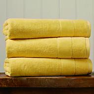 tanie Ręcznik kąpielowy-Najwyższa jakość Ręcznik kąpielowy, Jendolity kolor 100% bawełna Łazienkowe 1 pcs
