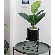 billige Kunstige blomster-Kunstige blomster 1 Gren Klassisk Scenerekvisitter / Enkel Stil Planter / Vase Gulvblomst
