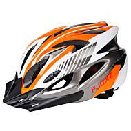 Ενηλίκων Bike Helmet 18 Αεραγωγοί ESP+PC Αθλητισμός Ποδηλασία / Ποδήλατο / Ποδήλατο - Μαύρο / Κόκκινο / Μαύρο / Μπλε / Ασημί+Πορτοκαλί Γιούνισεξ