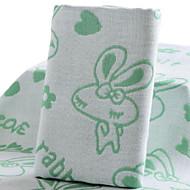 billige -Overlegen kvalitet Badehåndkle, Geometrisk 100% Bambus Fiber Baderom 1 pcs