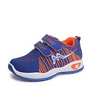 baratos Sapatos de Menina-Para Meninas Sapatos Com Transparência Outono & inverno Conforto Tênis Caminhada Presilha para Infantil Azul / Rosa claro / Azul Real / Slogan