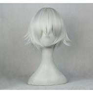 Cosplay Parykker K Yashiro Isana Sølv Anime Cosplay Parykker 14 inch Varmeresistent Fiber Unisex Halloween Parykker