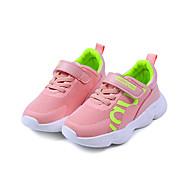 baratos Sapatos de Menina-Para Meninas Sapatos Com Transparência / Couro Ecológico Primavera Verão Conforto Tênis Caminhada para Infantil Preto / Vermelho / Rosa claro