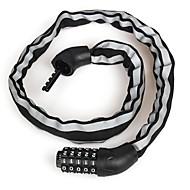 billige Sykkeltilbehør-Sykkellås Sykling, låsing Security, Verneutstyr Sykkel / Motorsykkel / Foldesykkel Jern / ABS Sølv / Svart