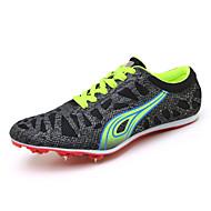 baratos Sapatos Masculinos-Homens Couro Ecológico Outono & inverno Conforto Tênis Atletismo Preto / Amarelo / Verde