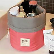 tanie Przechowywanie biżuterii-Przechowywanie Organizacja Kosmetyczny makijaż organizator Tkanina Nieregularny kształt Flip-open Cover / Nieosłonięty