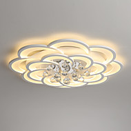 billige Bestelgere-UMEI™ Geometrisk / Originale Takplafond Omgivelseslys Malte Finishes Metall Akryl Krystall, Nytt Design 110-120V / 220-240V Varm Hvit / Hvit / Dimbar med fjernkontroll LED lyskilde inkludert / FCC