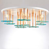 billige Taklamper-ZHISHU 9-Light Originale Takplafond Nedlys - Mini Stil, Kreativ, Nytt Design, 110-120V / 220-240V Pære ikke Inkludert