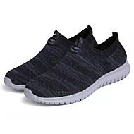 baratos Sapatos Masculinos-Homens Solas Claras Com Transparência Outono Tênis Tênis Anfíbio Azul Escuro / Cinzento / Preto / Vermelho