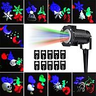 baratos Focos-KWB 10pçs 10 W Focos de LED Impermeável / Decorativa / Adorável Multicolorido 100-240 V Iluminação Externa